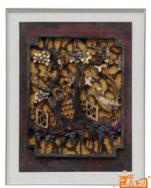 木雕作品-淘宝-名人字画-中国书画服务中心